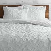CB2 Melyssa Icy Blue King Duvet Cover