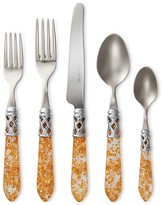 Vietri Aladdin Gold Fleck 5-Piece Place Setting