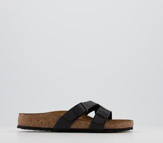 Birkenstock Yao Balance Sandals Black Birko