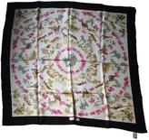 Salvatore Ferragamo White Silk Silk handkerchief