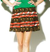Elastic Waist Peruvian Skirt
