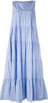 P.A.R.O.S.H. tiered maxi dress - women - Cotton - XS