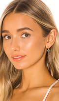 Ef Collection 14k Diamond Open Star Huggie Earring