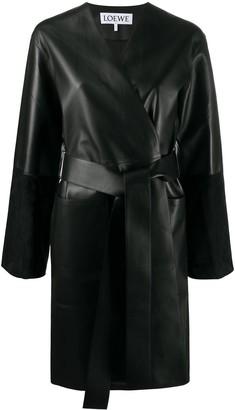 Loewe Belted Mid-Length Coat