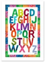 Eric Carle Alphabet Soup Wall Art