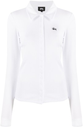 Stussy Long Sleeve Knitted Polo Shirt