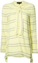 Proenza Schouler stripe knot top - women - Silk/Acetate/Viscose - 4