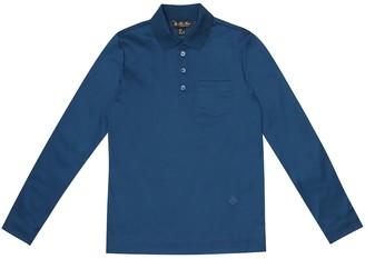 Loro Piana Kids My Little T cotton polo shirt