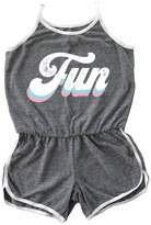 TINY WHALES Fun Rollergirl Romper