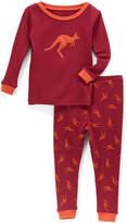 Maroon Kangaroo Pajama Set - Infant, Toddler & Boys