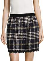 Anna Sui Women's Tartan Mini Skirt