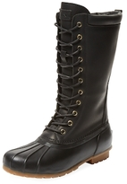 Australia Luxe Collective Havea Tall Leather & Rubber Boot