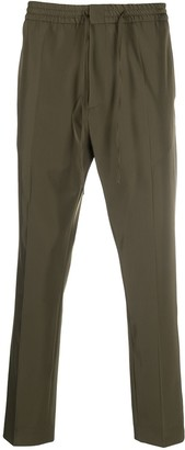 Cmmn Swdn Stan tapered drawstring trousers