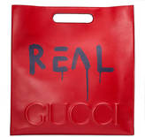 Gucci GucciGhost leather tote