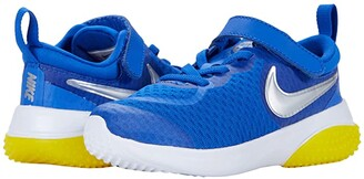 Nike Kids Project POD (Infant/Toddler) (Game Royal/Metallic Silver/Speed Yellow) Kid's Shoes
