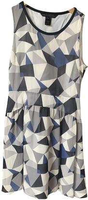Marc by Marc Jacobs Blue Silk Dresses