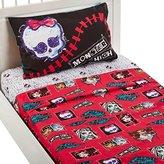 Mattel MA6068 Monster High All Ghouls Allowed Sheet Set, Twin
