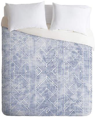Deny Designs Holli Zollinger Amai Denim Twin Duvet Set Bedding