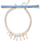 New York & Co. 4-Row Choker Necklace