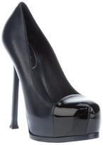Saint Laurent 'Classic Tribute Two 105' cap toe pump