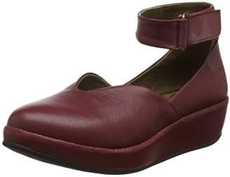 Fly London Women's BELA785FLY Ankle Strap Heels, (Cordoba Red), 39 EU