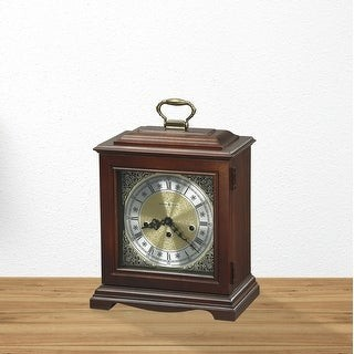 Howard Miller Graham Bracket Classic, Traditional, Old World, Chiming Mantel Clock with Silence Option, Reloj del Estante