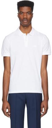 BOSS White Piro Regular-Fit Polo