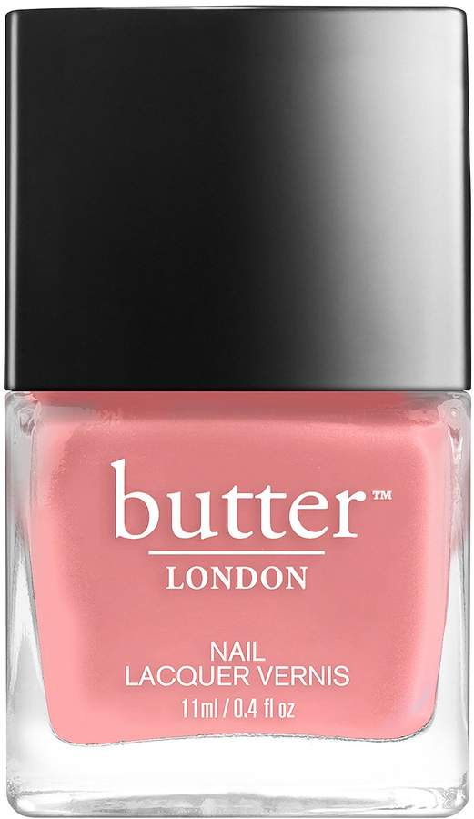 Butter London Nail Lacquer, White and Pink Shades