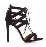 Aquazzura Black Beverly Hills Sandal