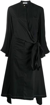 J.W.Anderson Wrap Poplin Shirtdress