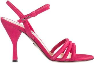 Prada Strappy Heeled Sandals