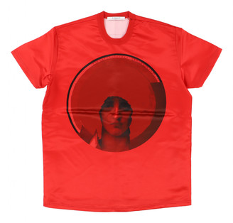 Givenchy Red Polyester T-shirts