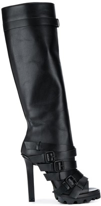 DSQUARED2 Cross'n'Roll open toe boots