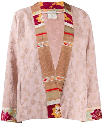 Forte Forte Embroidered Panel Boxy Jacket