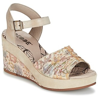 dkode LATIFA women's Sandals in Beige