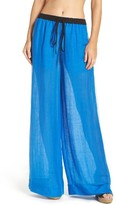 Diane von Furstenberg Women's Cover-Up Wide Leg Pants