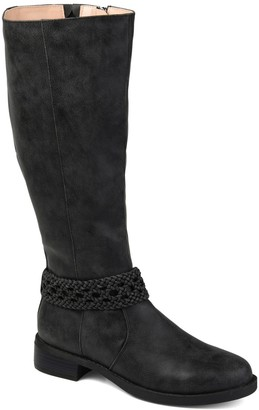 Journee Collection Paisley Women's Knee-High Boots