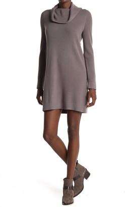 BB Dakota Must Love Hugs Cowl Neck Knit Dress