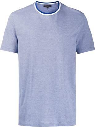 Michael Kors striped neck T-shirt