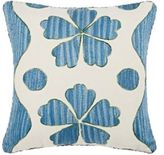 Madeline Weinrib Graham Suzani Pillow-BLUE