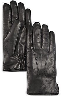 The Men's Store at Bloomingdale's Shearling Lined Leather Gloves - 100% Exclusive