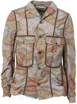 Kolor printed cargo jacket - men - Cotton/Nylon/Polyurethane - 3