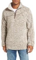 True Grit Men's Frosty Tipped Quarter Zip Pullover