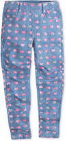 Levi's Haley May Heart-Print Knit Leggings, Toddler Girls