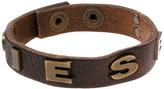 Diesel Leather Bracelet