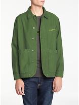 Hawksmill Denim Co Reverse Jacket, Olive