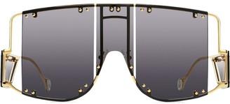 Fenty by Rihanna Blockt mask sunglasses
