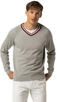Tommy Hilfiger Custom Fit Varsity Stripe Sweater