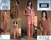 Vogue Adri V2851 Pattern 20-22-24 G