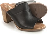 Toms Majorica Perforated Suede Mules - Peep Toe (For Women)